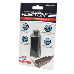 Тестер USB-порта ROBITON USB Power Meter